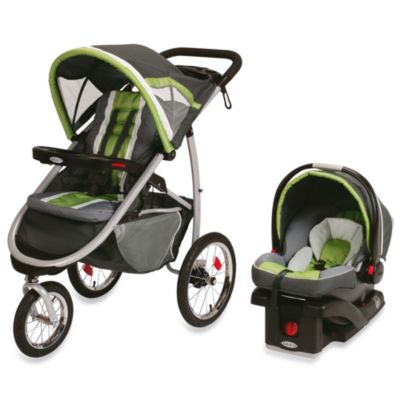 Strollers > Graco® FastAction™ Fold Jogger Click Connect™ Travel System in Piazza