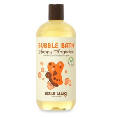 Little twig® Tangerine 17 oz. Baby Bubble Bath