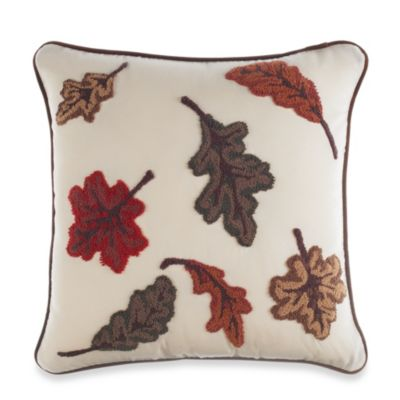Forest Friends Square Throw Pillow