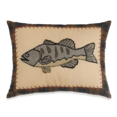 Forest Friends Oblong Toss Pillow
