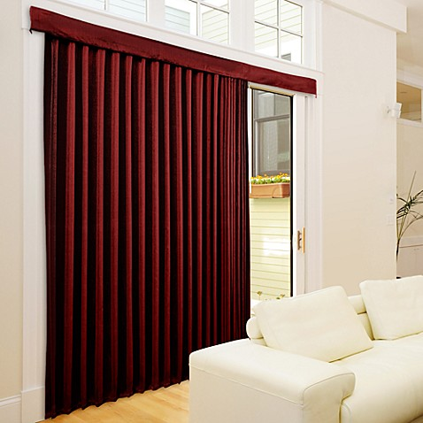 Lose The Louvers Sophia Blinds in Red