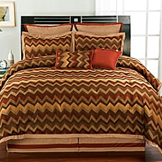 Traffic Burgundy 8-Piece Comforter Set