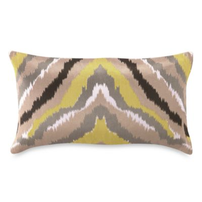 Trina Turk® Ikat Stripe Oblong Toss Pillow