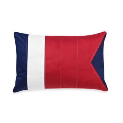 Nautica® Brant Point Oblong Toss Pillow