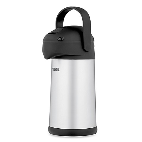 THERMOS® 2.7-Quart Stainless Steel Pump Pot
