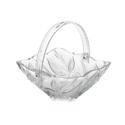 Mikasa® Angelina Frost Glass Basket