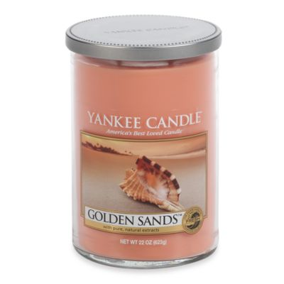 Yankee Candle® Golden Sands™ Large 2-Wick Lidded Candle Tumbler