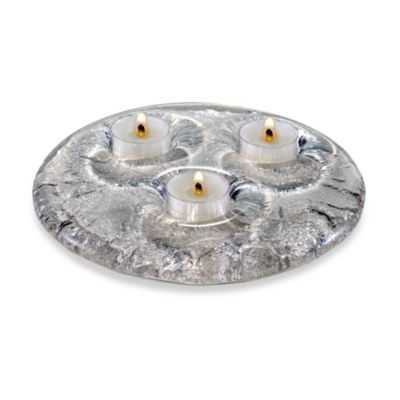 JSG Oceana Tea Light Candle Holder in Crystal
