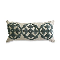 Nostalgia Home Fashions™ Loop Embroidered Oblong Toss Pillow