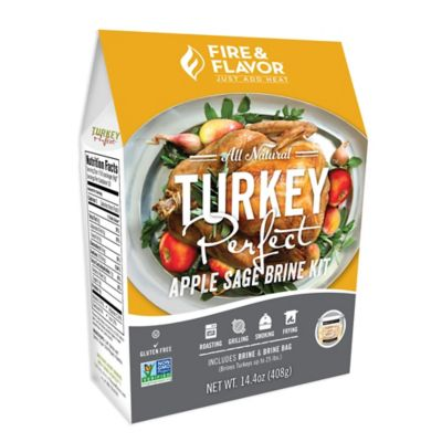 Fire & Flavor™ Turkey Perfect Apple Sage Brining Kit