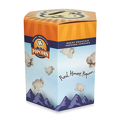 Rocky Mountain Popcorn Company 2-Gallon Notta Tin Gift Box of Popcorn