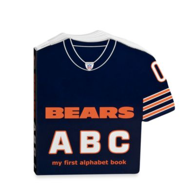 NFL Chicago Bears ABC My First Alphabet Book
