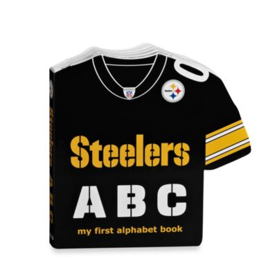 NFL Pittsburgh Steelers ABC My First Alphabet Book