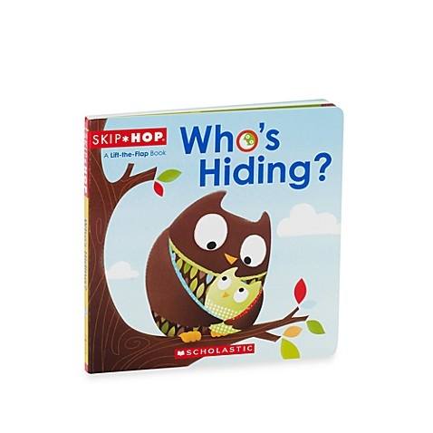 SKIP*HOP®  Who's Hiding? Board Book