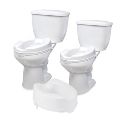 Drive Medical 4-Inch Raised Toilet Seat