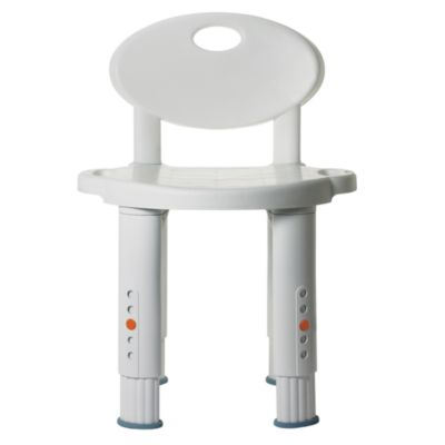 Michael Graves/Drive Medical Bath and Shower Stool Seat With Back