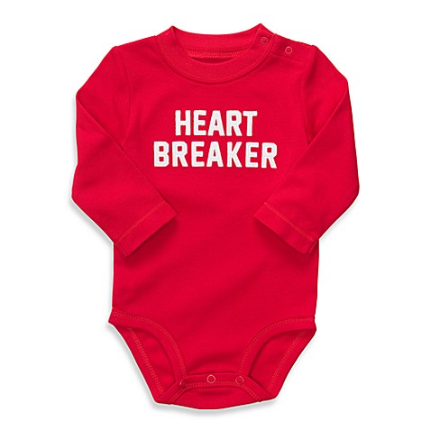 Carter's Heart Breaker Red Bodysuit - 12-Months