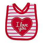 Carter's® I Love You/Red Stripe Bib