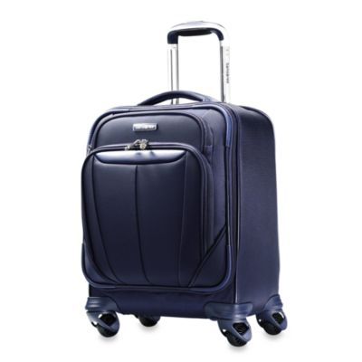 Samsonite® Silhouette Softside 17-Inch Spinning Boarding Bag in Blue