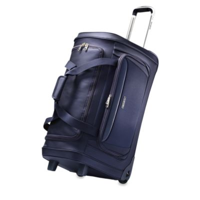 Samsonite® Silhouette Sphere Softside 26-Inch Wheeled Duffel in Blue