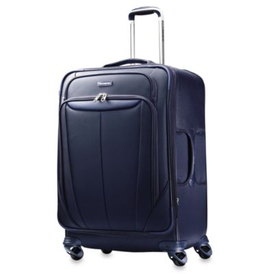 Samsonite® Silhouette Sphere Softside 25-Inch Spinner in Blue