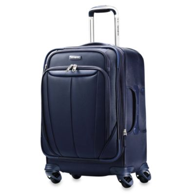 Samsonite® Silhouette Sphere Softside 21-Inch Expandable Carry-On Spinner in Blue