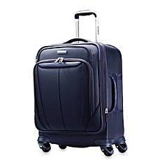 Samsonite® Silhouette Softside 20-Inch Widebody Carry-On Spinner in Blue