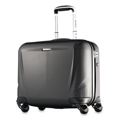 Samsonite® Silhouette Sphere Hardside 18-Inch Spinner Upright in Black