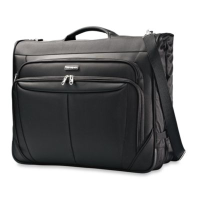 Samsonite® Silhouette Sphere Softside 23-Inch Ultravalet Garment Bag in Black