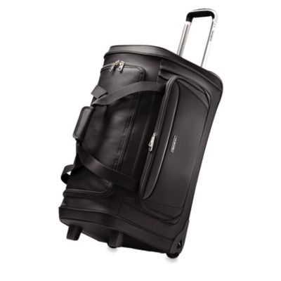 Samsonite® Silhouette Sphere Softside 26-Inch Wheeled Duffel in Black