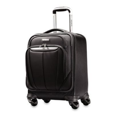Samsonite® Silhouette Sphere Softside 17-Inch Spinner Boarding Bag in Black