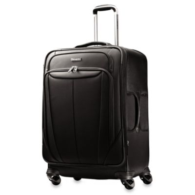 Samsonite® Silhouette Softside 29-Inch Expandable Spinner in Black