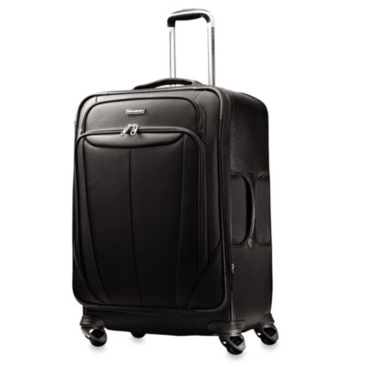 Samsonite® Silhouette Sphere Softside 25-Inch Expandable Spinner in Black