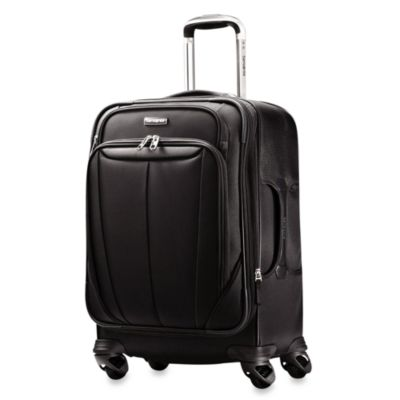 Samsonite® Silhouette Sphere Softside 21-Inch Carry-On Spinner in Black