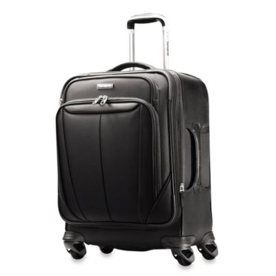 Samsonite® Silhouette Sphere Softside 20-Inch Widebody Spinner in Black