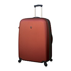 Traveler's Club Burnt Orange Hardside 28-Inch Expandable ABS