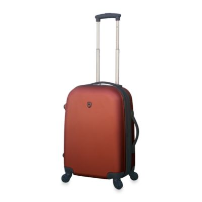 Traveler's Club Burnt Orange Hardside 20-Inch Expandable ABS Carry-On