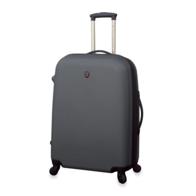Traveler's Club Charcoal Hardside 24-Inch Expandable ABS
