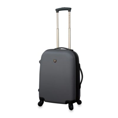 Traveler's Club Charcoal Hardside 20-Inch Expandable ABS Carry-On