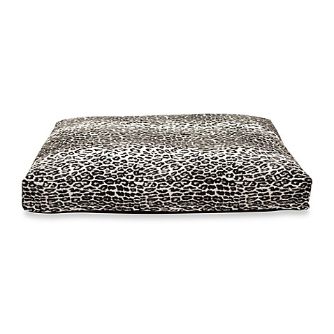 Best Friends by Sheri Extra Large Pet Bed in Leopard Black