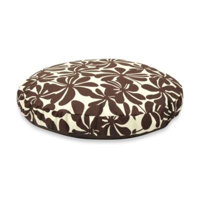 Best Friends by Sheri SunStyle Circular Medium Dog Bed in Twirly Brown