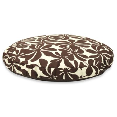 Best Friends by Sheri SunStyle Circular XL Dog Bed in Twirly Brown