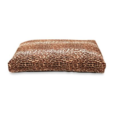 Best Friends by Sheri Medium Pet Bed in Leopard Brown