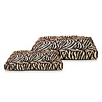 Best Friends by Sheri Standard Pet Beds in Zebra Brown