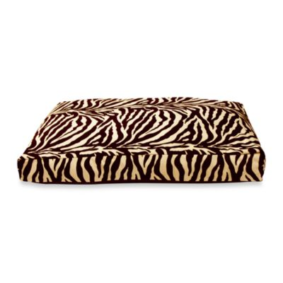 Best Friends by Sheri Medium Pet Bed in Zebra Brown