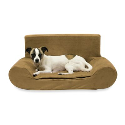 Best Friends by Sheri Small Bolster Sofa in Buckskin
