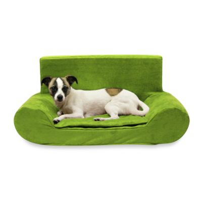 Best Friends by Sheri Small Bolster Sofa in Kiwi