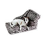 Best Friends by Sheri Small Chaise Lounge in Zebra Black