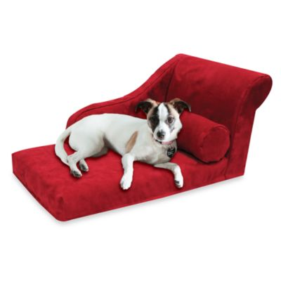 Best Friends by Sheri Small Chaise Lounge in Lipstick Red