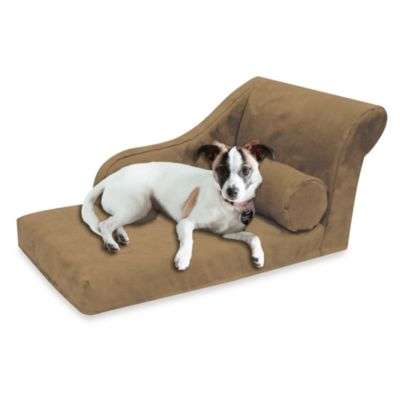 Best Friends by Sheri Small Chaise Lounge in Buckskin Brown